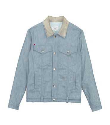 JACKET JEAN - Blue denim