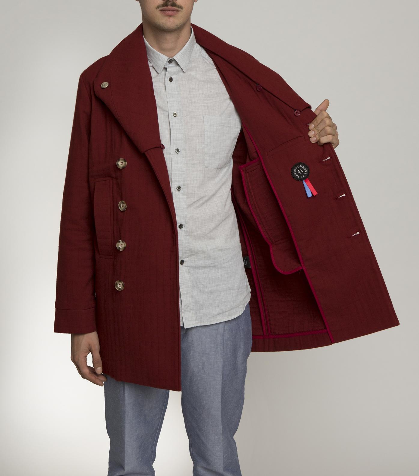 COAT LISBONNE-S - Red