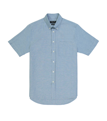 SHIRT EUDES BASIC-S - Light blue