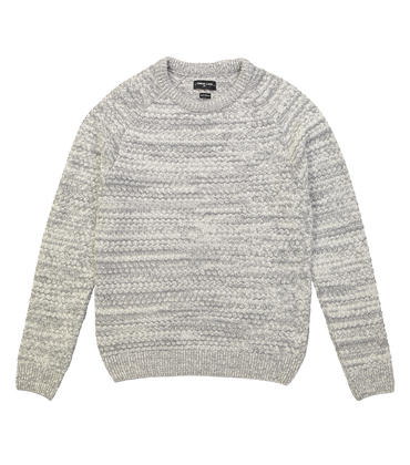 PULL VINCENNES - Gris chine/blanc