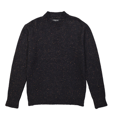 PULL SCARRON - Navy chine