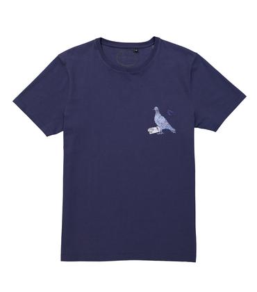 TEE PIGEON VOYAGEUR - Navy