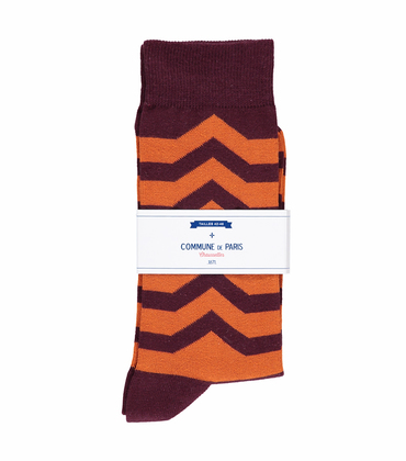 SOCKS ROMAINVILLE - Garnet