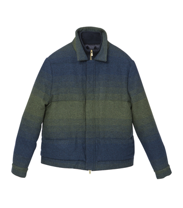 PADDED JACKET THIMOTHEE   - Green gradient