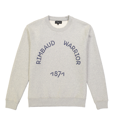 SWEAT RIMBAUD - Marl grey
