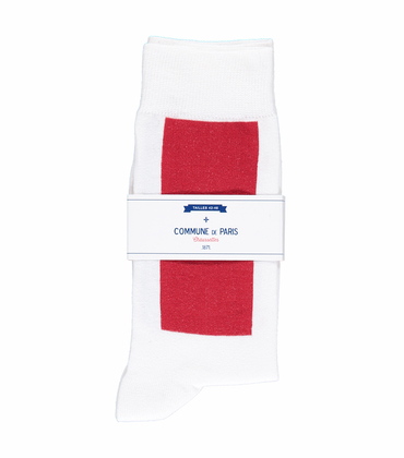 SOCKS BLOCK - Red/blue