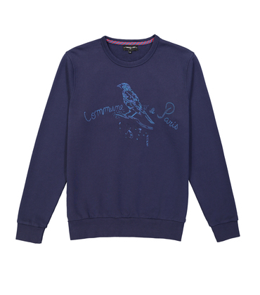 SWEAT MOINEAU 1871 - Navy