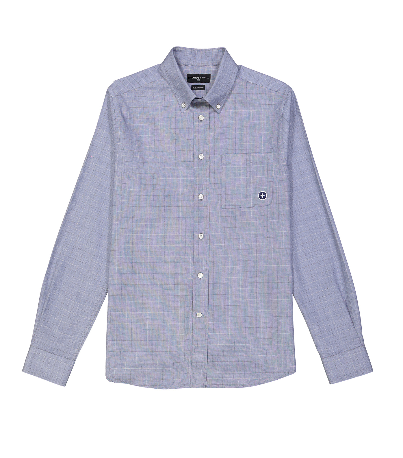 SHIRT EUDES-B  - Blue checks