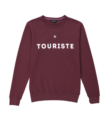 SWEAT TOURISTE - Garnet