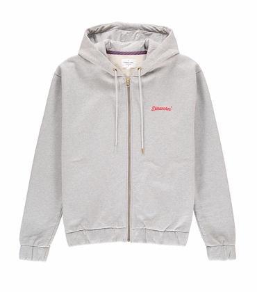 HOODIE DIMANCHES - Marl grey