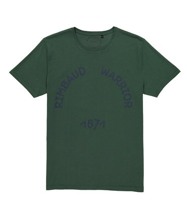 TEE RIMBAUD - Dark green