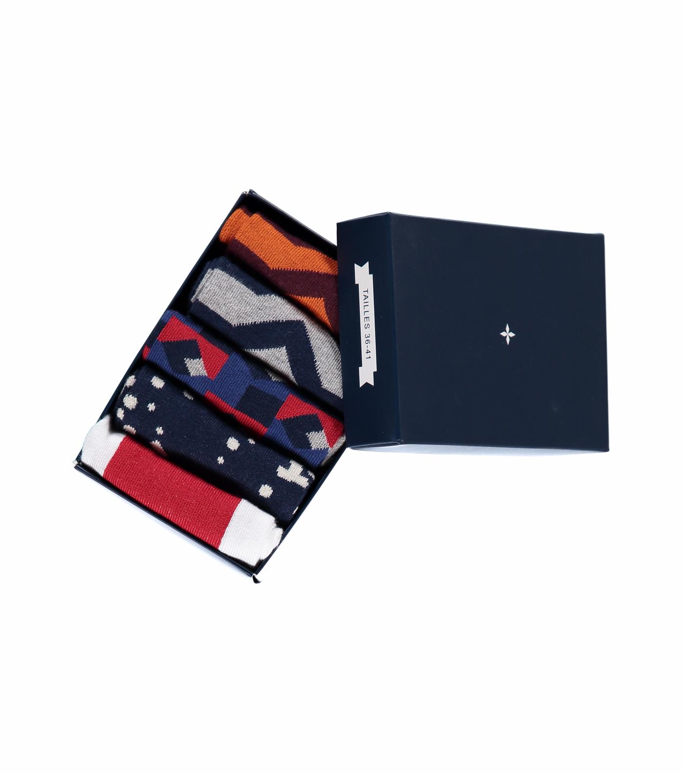 BOX 5 PAIRS SOCKS - Multi