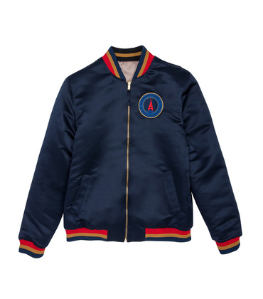 JACKET  SOUVENIR PSG  - Marine/or