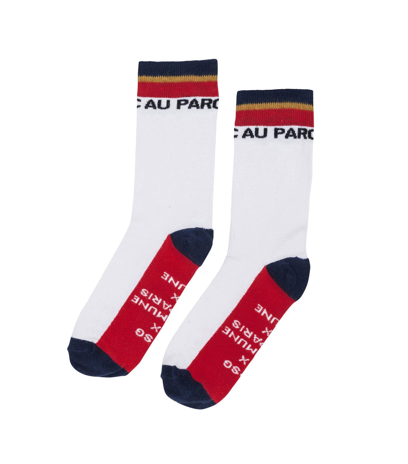 SOCKS  AU PARC  - White