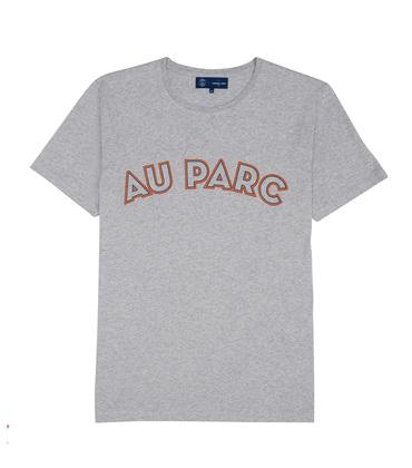 TEE AU PARC  - Marl grey