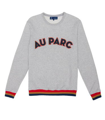 SWEAT  AU PARC  - Gris chine