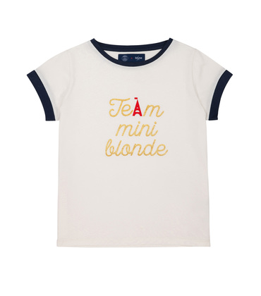 PRINTED TEE-SHIRT TEAM BLUNE - White