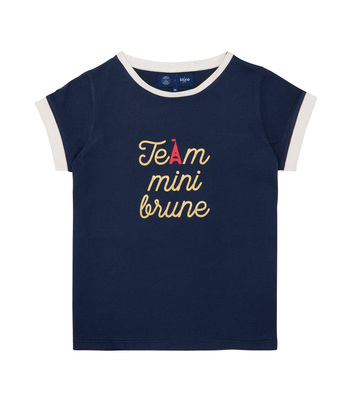 PRINTED TEE-SHIRT TEAM BLUNE - Navy