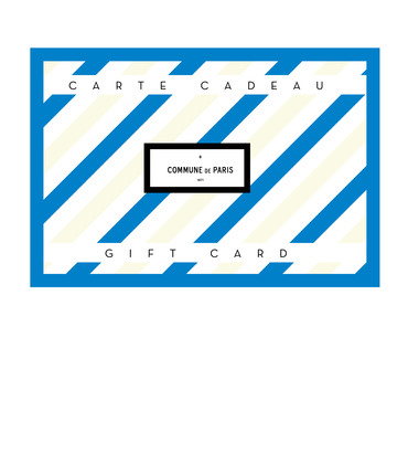 GIFT CARD - Blue card 100€