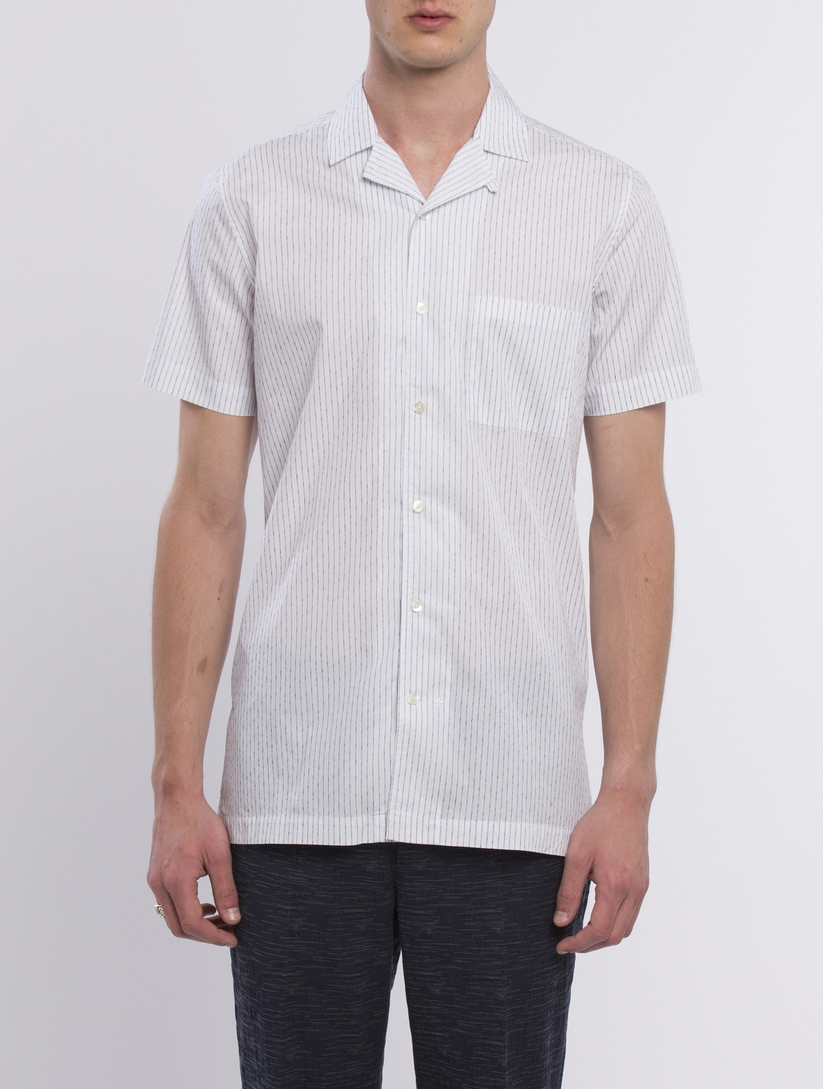SHIRT  HILO - Navy stripes