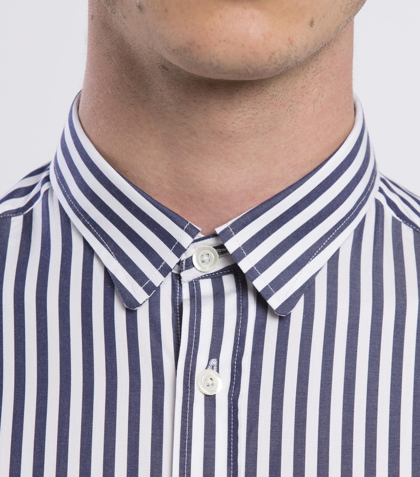 SHIRT  ROSSEL-GR - Navy stripes