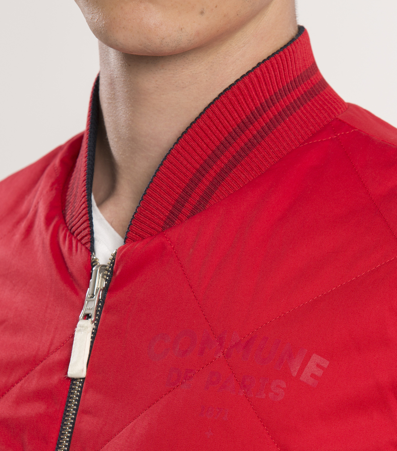 JACKET  SOUVENIR - Blue/red