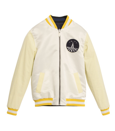 JACKET  SOUVENIR - Yellow/navy