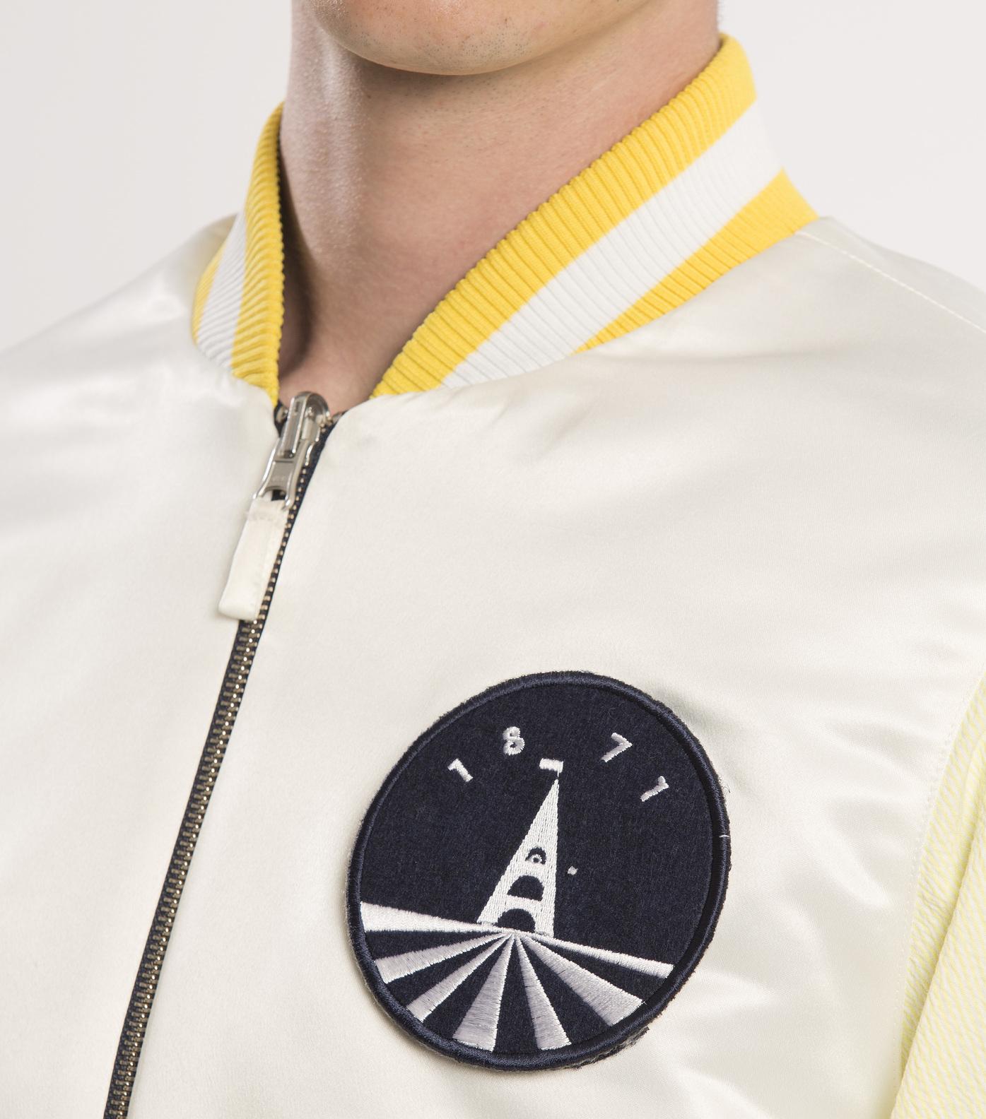 JACKET  SOUVENIR - Yellow/navy