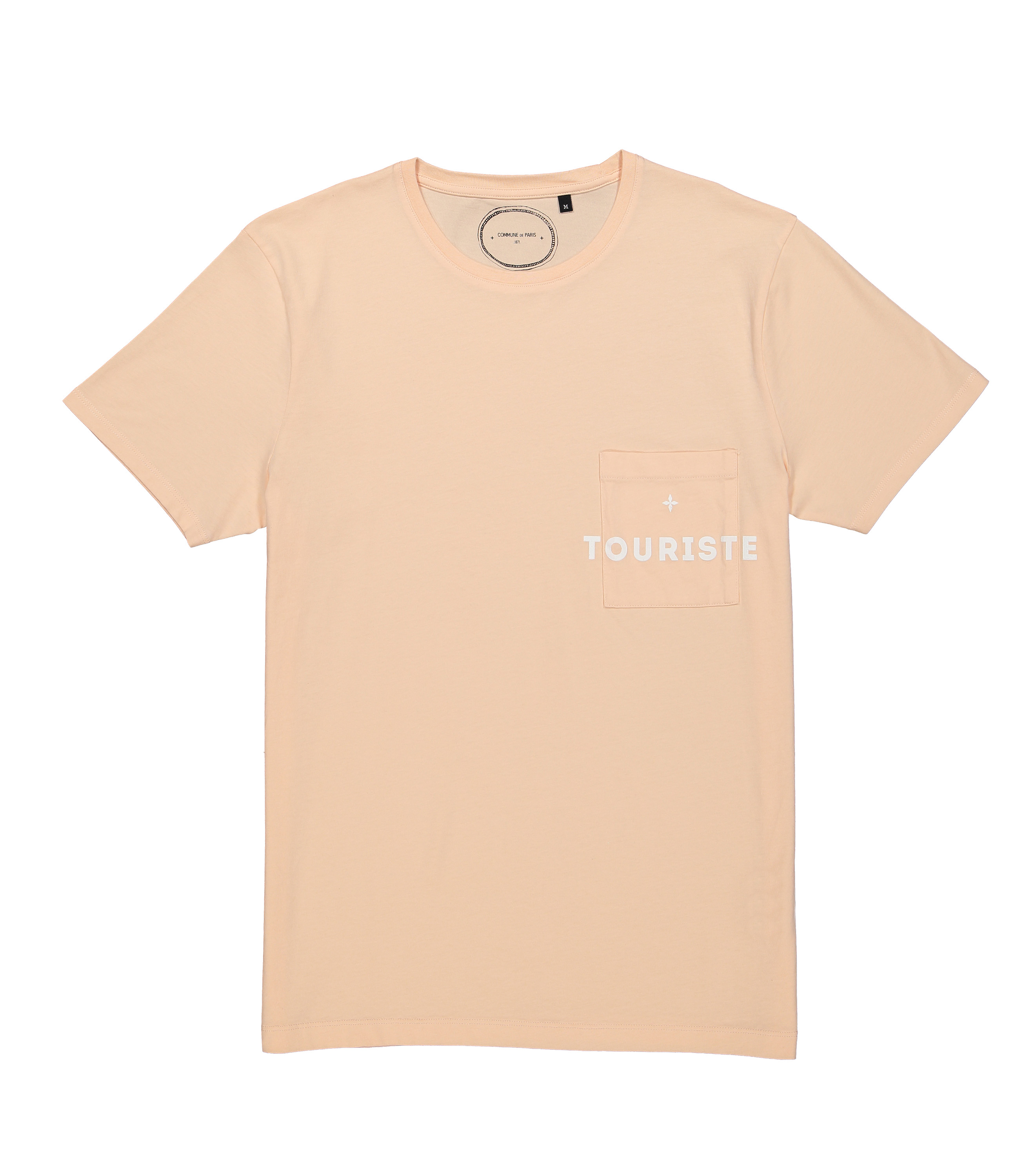 TEE  LITTLE TOURISTE - Peach