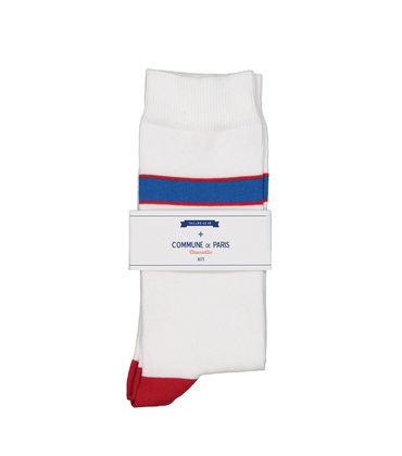 SOCKS BORG  - White