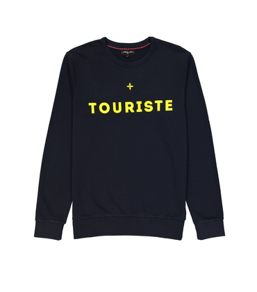 SWEAT  TOURISTE  - Navy