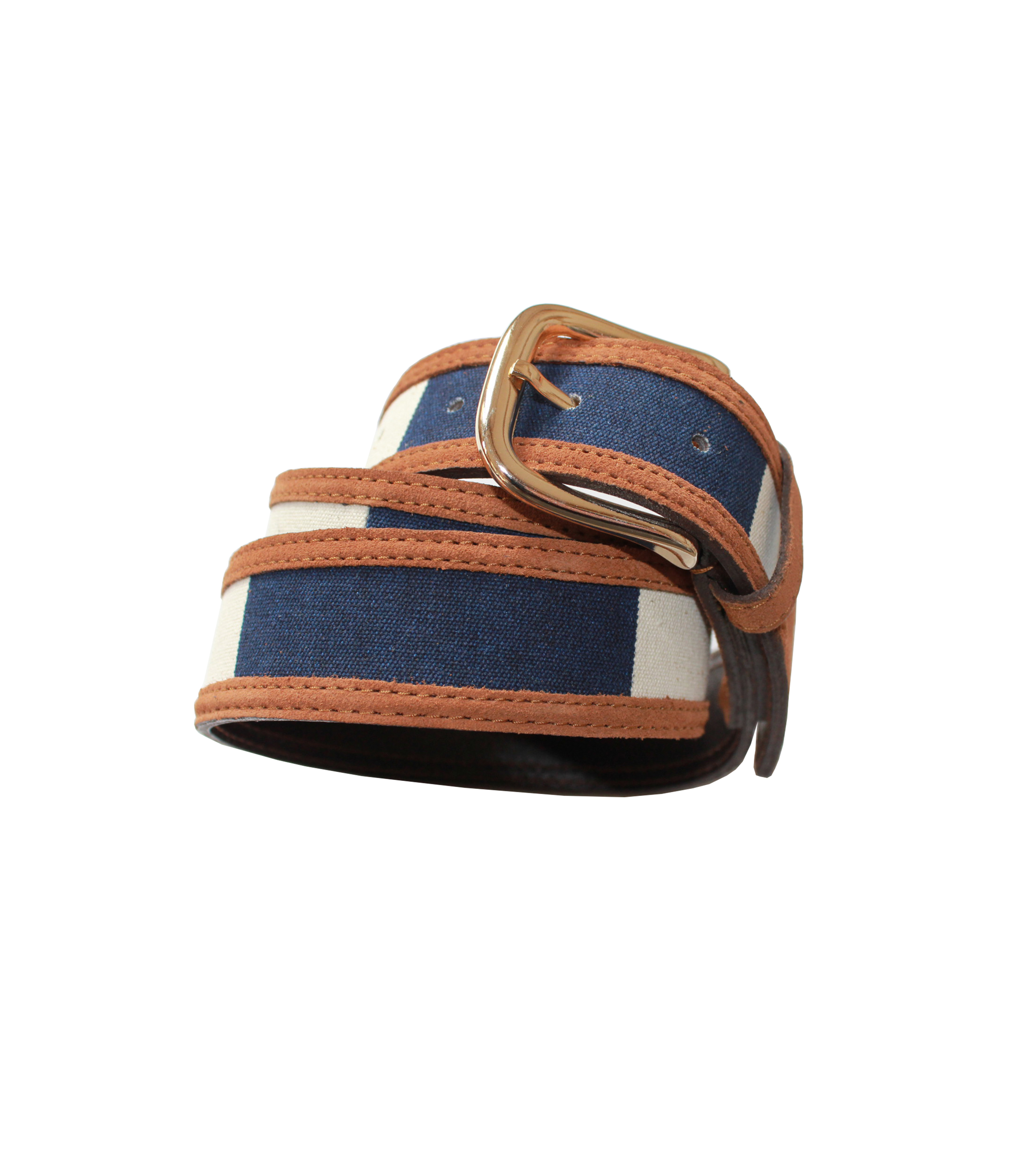 BELT CDP  - Navy stripes