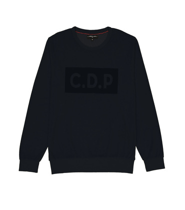 SWEAT  CDP VELVET  - Navy