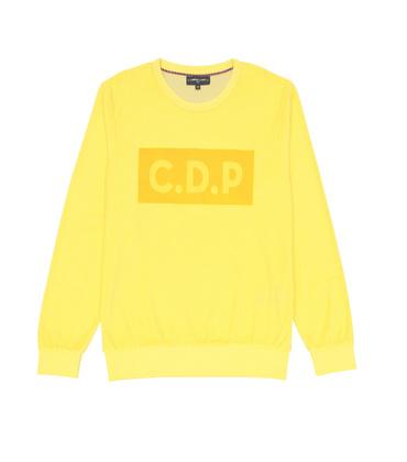 SWEAT  CDP VELVET  - Yellow