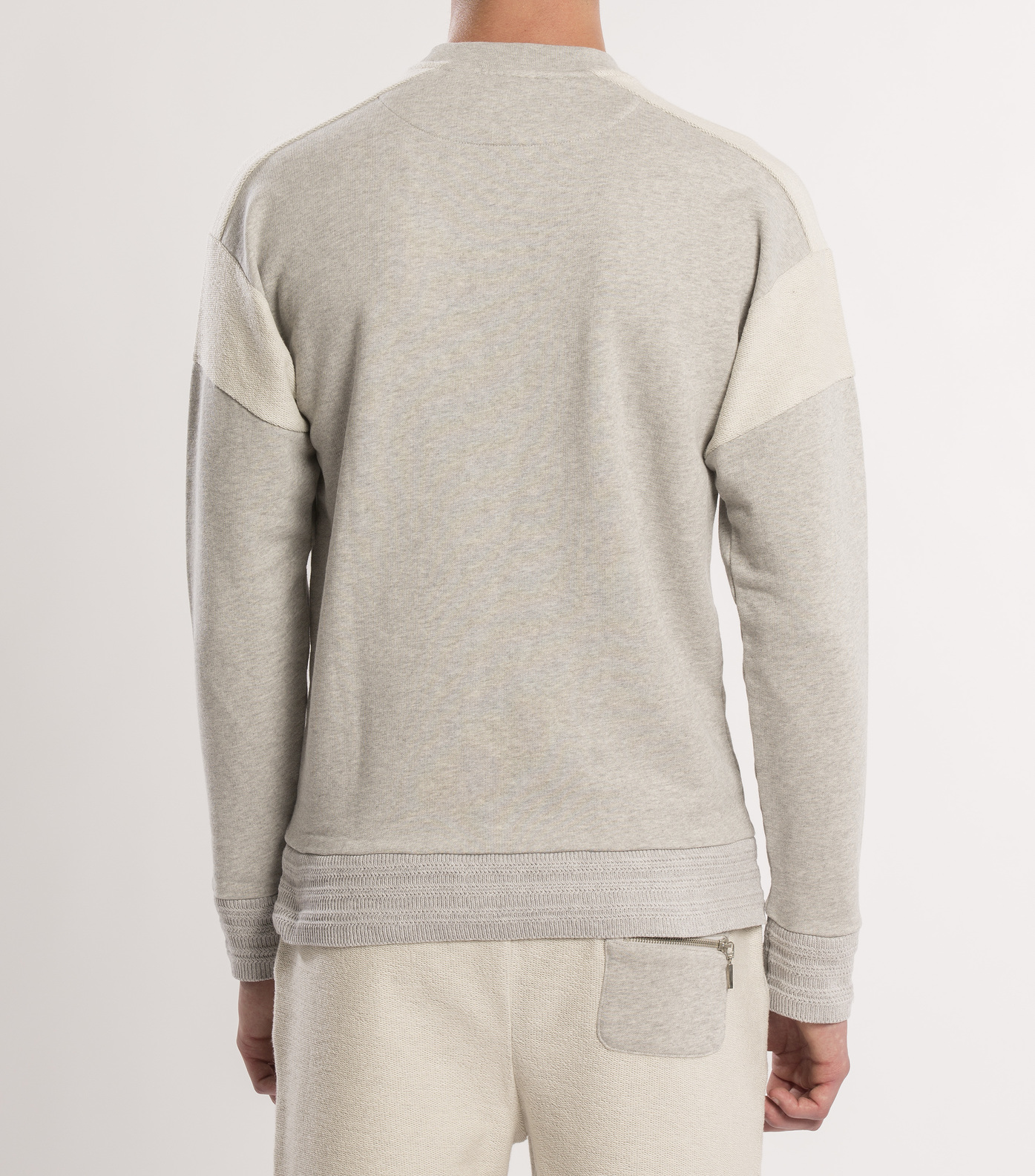 SWEAT  DIMANCHES  - Marl grey