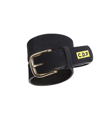BELT  LEATHER  - Navy