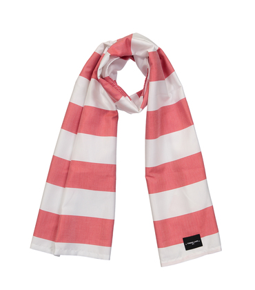 SCARF SUMMER  - Red stripes