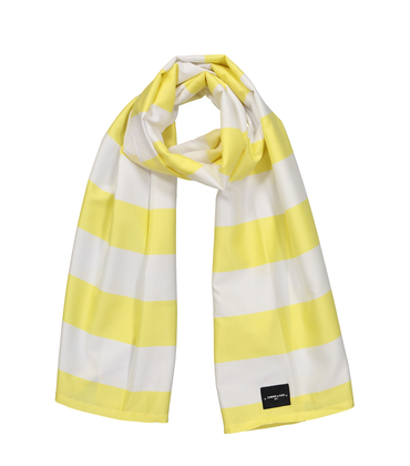 SCARF SUMMER  - Yellow stripes