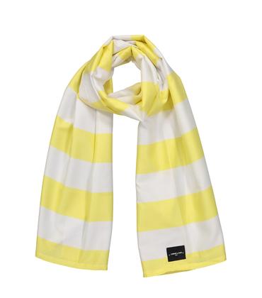ECHARPE SUMMER  - Rayures jaunes