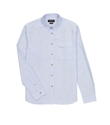 SHIRT DUBOCEY - Thin stripes