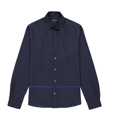 SHIRT VUILLARD - Navy checks