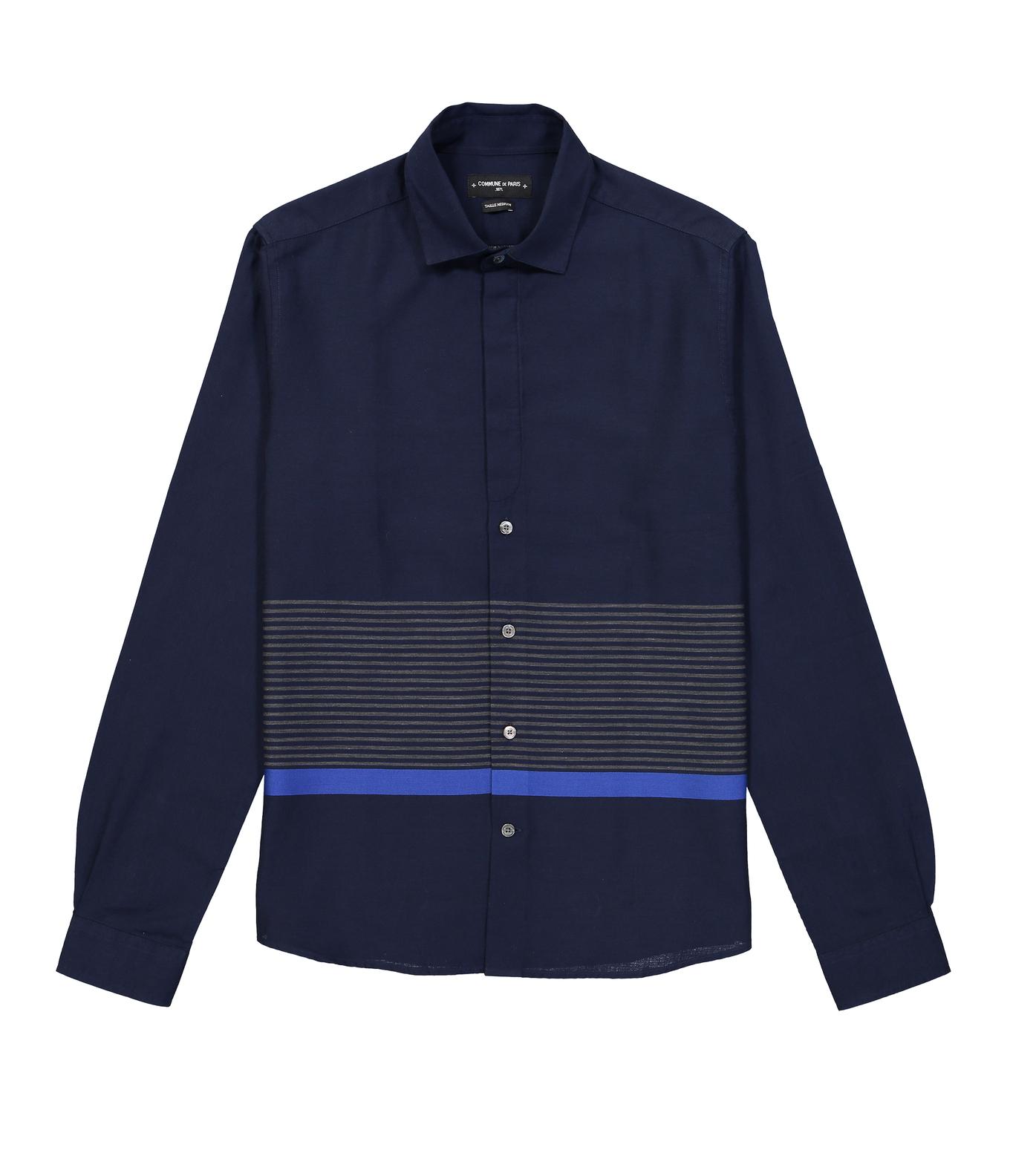 SHIRT VUILLARD - Navy stripes