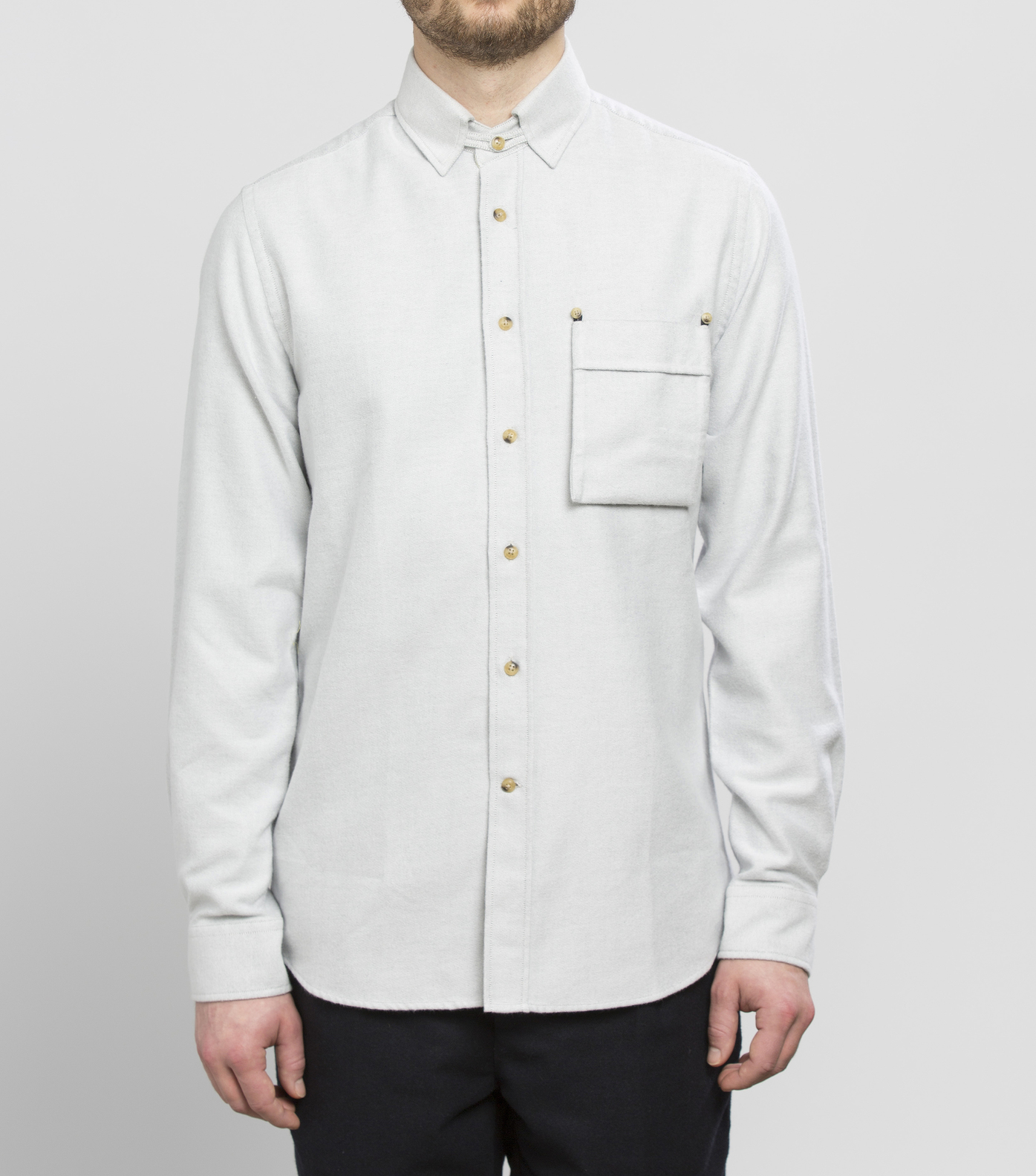 SHIRT TIRARD - Light grey