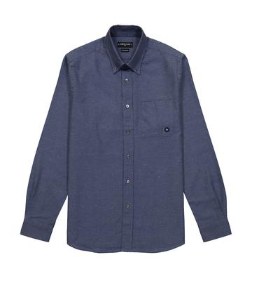 SHIRT EUDES-B - Marl blue