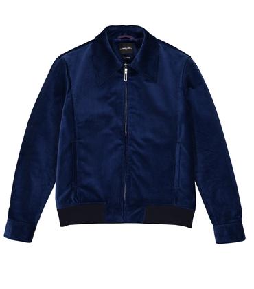 JACKET CAMILLE  - Blue velvet