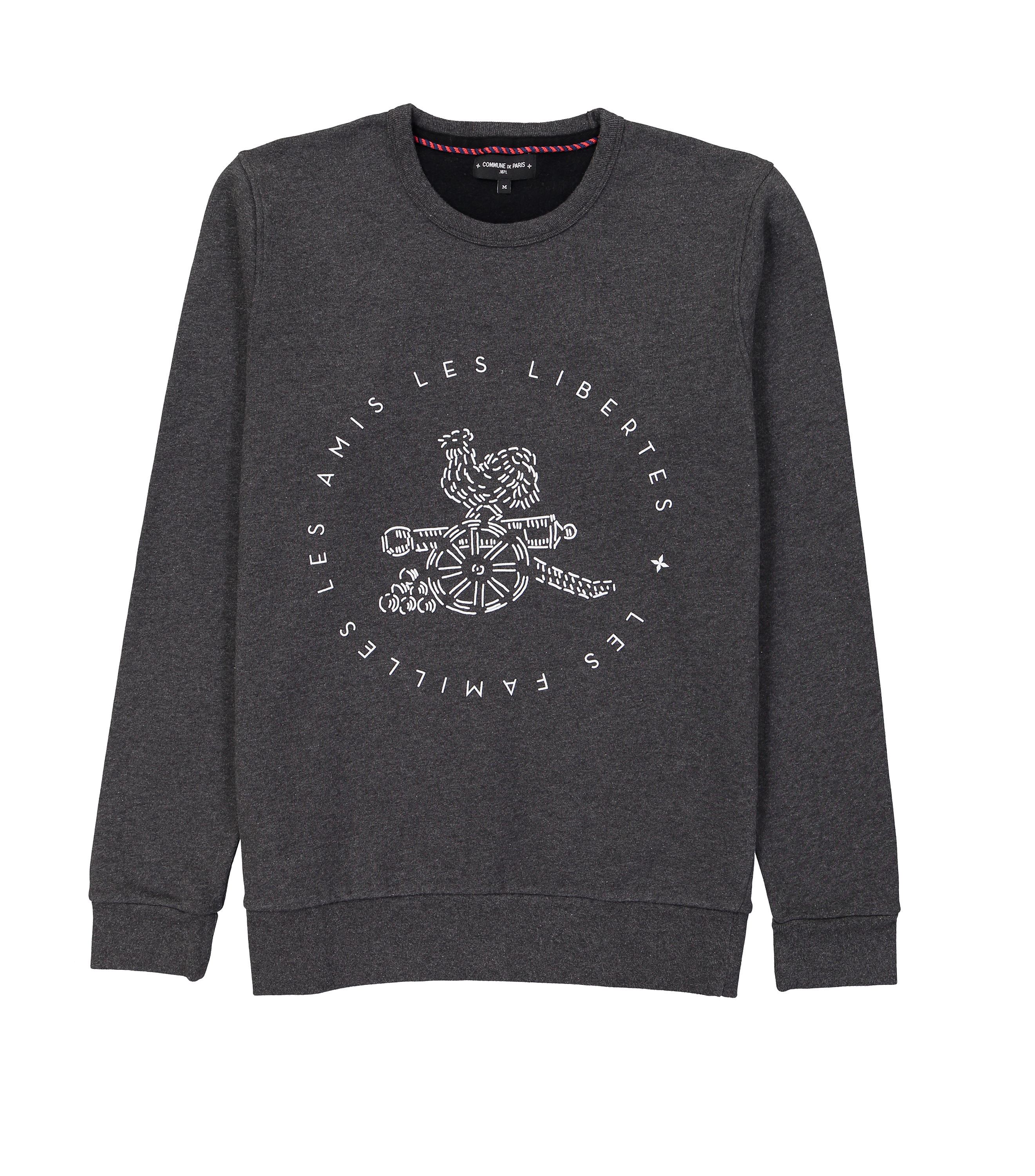 SWEAT COQ - Dark grey