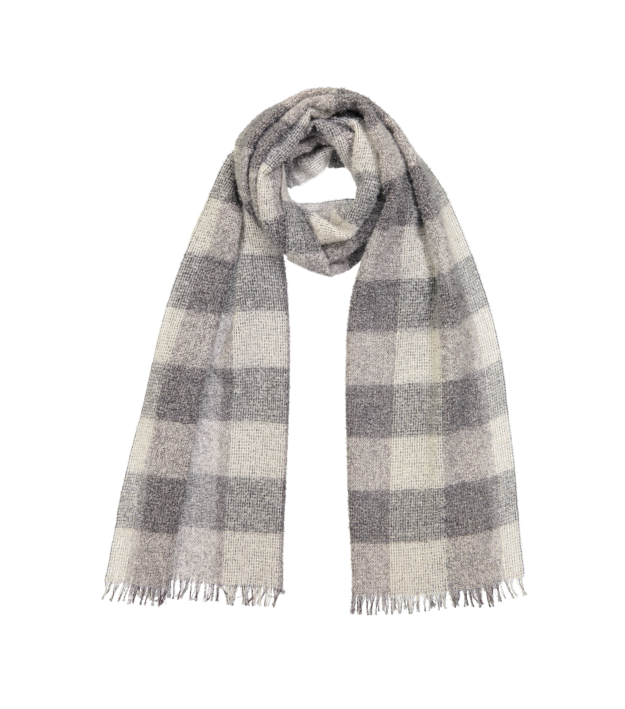 SCARF ALPA - Light grey