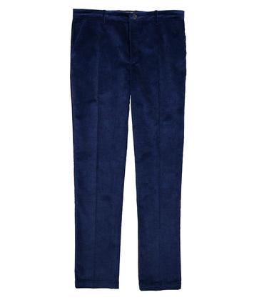 PANTS GN6 - Blue velvet