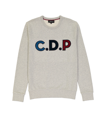 SWEAT CDP MULTI - Marl grey