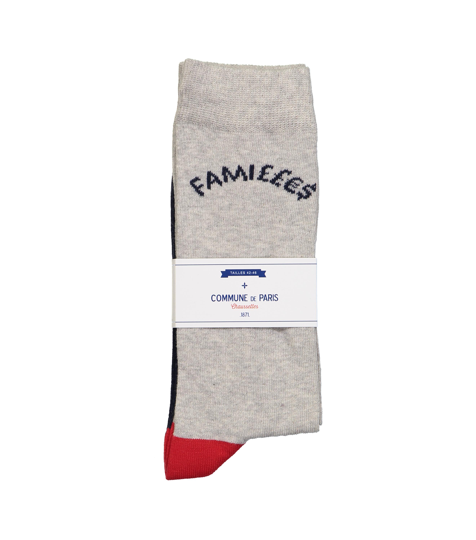 SOCKS FAMILLES - Grey